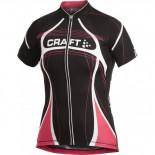 Dámský cyklodres Craft PB Tour černá s růžovou