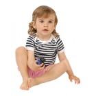 Moira kojenecké triko Extremelight námořnický pruh