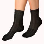 Dětské ponožky Moira vložky černá