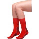 Moira ponožky Thermoset červená