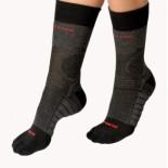 Moira ponožky Fresh šedá s černou