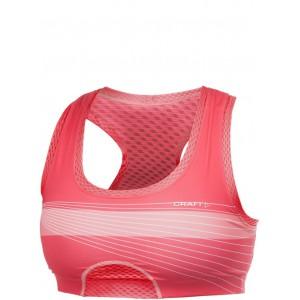 Dámská podprsenka Craft Sports Bra růžová korálová