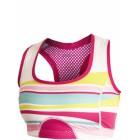 Dámská podprsenka Craft Sports Super bílá s růžovou