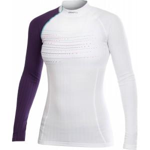 Dámské triko Craft Be Active Extreme bílá s fialovou
