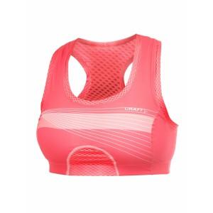 Dámská podprsenka Craft Sports Super růžová korálová