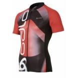 Pánské cyklotriko Odlo Sign červená s černou