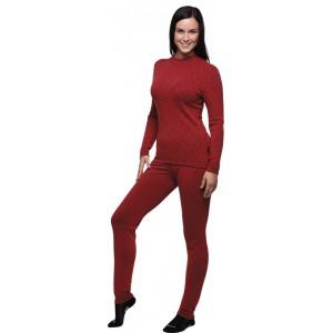 Dámské spodky Moira Merino Wool červená
