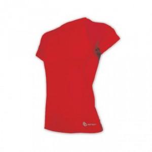 Dámské triko Sensor Coolmax Fresh kr.rukáv červená
