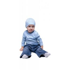 Moira kojenecké triko Thermon modrá