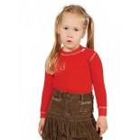 Dětské triko Moira Mono červená