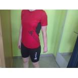Dámské triko Odlo Running Event červená