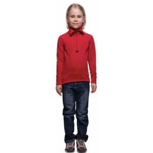 Moira dětský rolák Plyš se zipem červená