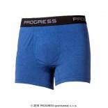 Pánské boxerky Progress Coffee modrá