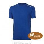 Pánské triko Progress Coffee kr.rukáv modrá