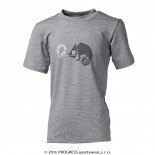 Dětské triko Progress Bambino Chameleon šedá
