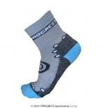 Dětské ponožky Progress Kids Bamboo Sox šedá s modrou