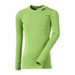 Dětské triko Progress Micro Sense dl.rukáv zelená