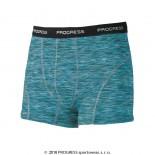 Pánské boxerky Progress Bond modrá tyrkysový melír
