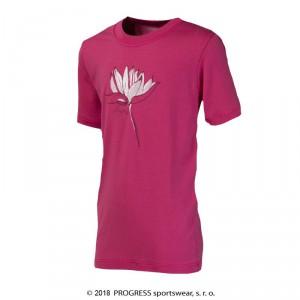 Dětské triko Progress Navaho Lotus růžová