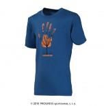 Dětské triko Progress Navaho Strom modrá