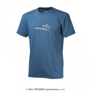 Pánské triko Progress Barbar Lodička modrá