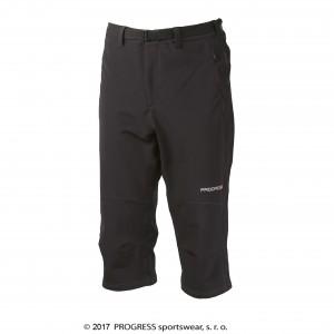 Pánské 3/4 kalhoty Progress Axcess 3Q černá