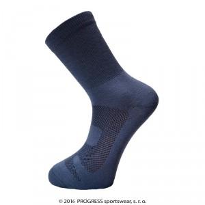 Ponožky Progress Manager Bamboo šedá