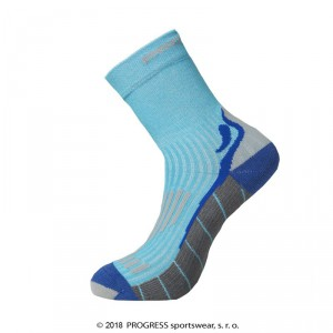 Ponožky Progress Running High Sox modrá