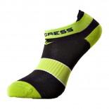 Ponožky Progress Snaker černá se zelenou