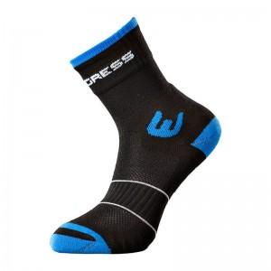 Ponožky Progress Walking černá s modrou