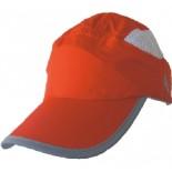 Sportovní kšiltovka Progress Training Cap červená s bílou