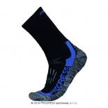 Progress ponožky X-Treme černá s modrou