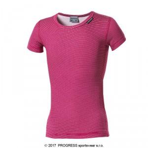 Dětské triko Progress Micro Sense růžová