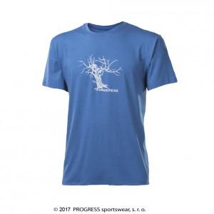 Pánské triko Progress Wabi modrá
