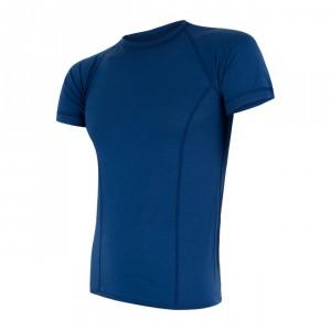 Pánské triko Sensor Merino Air kr.rukáv tmavě modrá