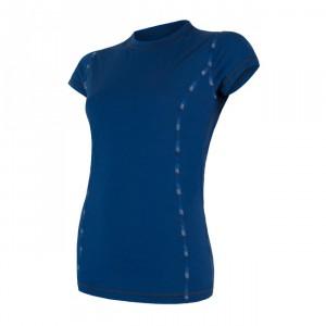 Dámské triko Sensor Merino Air kr.rukáv tmavě modrá