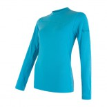 Dámské triko Sensor Merino Extreme modrá