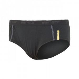 Dámské kalhotky Sensor Merino Active černá