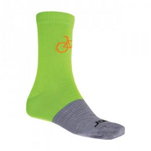 Ponožky Sensor Tour Merino Wool šedá se zelenou