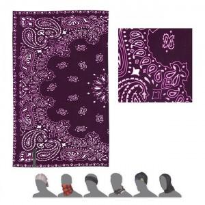 Multifunkční šátek Sensor Tube Ornament fialová