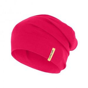 Čepice Sensor Merino Active růžová