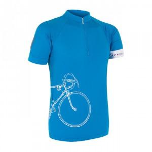Pánský cyklodres Sensor Tour modrá