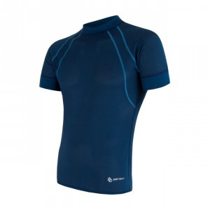 Pánské triko Sensor Coolmax Air tmavě modrá
