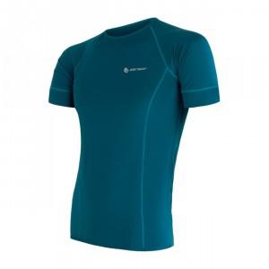 Pánské triko Sensor Coolmax Fresh kr.rukáv modrá safír