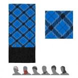 Multifunkční šátek Sensor Tube Fleece Hero modrá s černou
