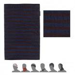 Multifunkční šátek Sensor Tube Merino Wool Air modrá s pruhy