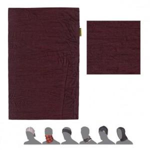 Multifunkční šátek Sensor Tube Merino Wool Air vínová