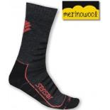 Ponožky Sensor Hiking Merino černá