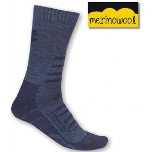 Ponožky Sensor Hiking Merino modrá