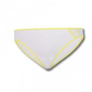 Dámské kalhotky Sensor Lissa bílá se žlutou